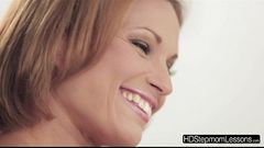 Stepmom Szilvia fuck daughters boyfriend and teach them a lesson
