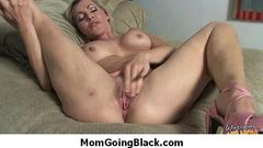 Busty White Mom Fucks Her Sons Black Friend 9
