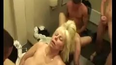 mature mom fucking son and his friend in the mall bathroom--thefamilysextube.com