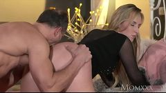 www.elation.ga       :Mom blonde bombshell milf worships the cock that fucks her