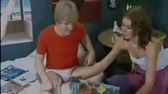 70s Family Threeway Fuck (Mother, Daughter And Son)