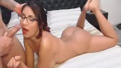 Horny Nerd Babe got Her Ass Banged by Her Partner Porn 83