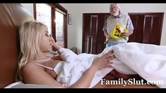 Hot Step Mom Fucks Son Under The Covers - FamilySlut.com
