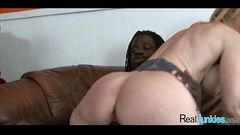 Watching mom fuck a black guy 358