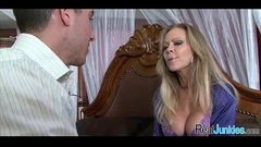 Interracial cuckold with mom 334